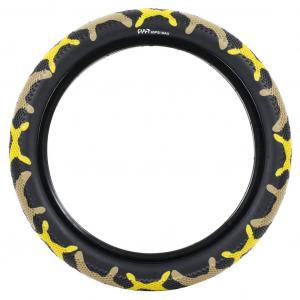 Cult X Vans Waffle Tire | Yellow Camo
