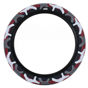 Cult X Vans Waffle Tire | Red Camo