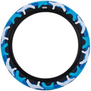 Cult X Vans Waffle Tire | Blue Camo