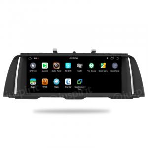 ANDROID 9.0 navigatore per BMW Serie 5 F10, F11 2011-2012 Sistema originale CIC 10.25 pollici WI-FI GPS Bluetooth MirrorLink