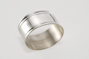 Portatovagliolo placcato argento stile Inglese cm.5,5x4,5x4,5h
