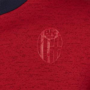Bologna Fc FELPA GIROCOLLO ROSSA 2019/20 Bambino