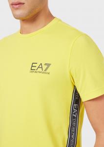 T-shirt uomo ARMANI EA7 in jersey con logo