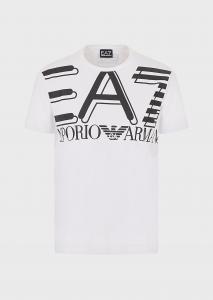 T-shirt uomo ARMANI EA7 in jersey con maxi-logo