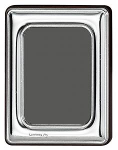 Cornice portafoto piccola in argento 4x6 stile Liscio cm.6x4