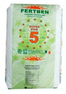Concime Super Five Blu 5-10-15 Vigna Fertben
