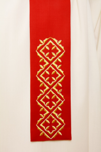 Casula Rossa in Pura Lana C118119T