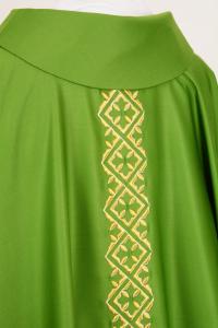 Casula Verde Pura Lana C118119T