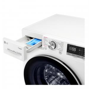 LG F2WV7S8P1 lavatrice Libera installazione Caricamento frontale Bianco 8,5 kg 1200 Giri/min A+++-30%
