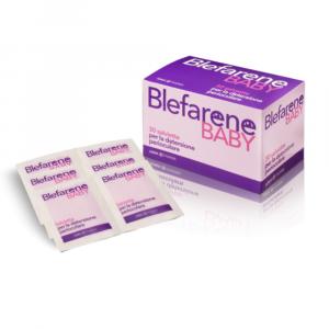 BLEFARENE BABY - 30 SALVIETTINE DETERGENTI DELLE PALPEBRE E CIGLIA