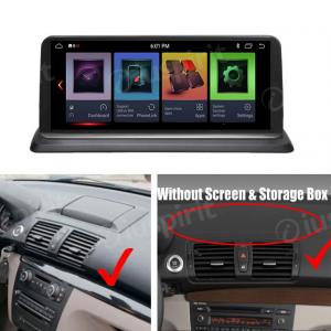 ANDROID 9.0 navigatore per BMW serie 1, BMW E81, BMW E82, BMW E88 10.25 pollici WI-FI GPS Bluetooth MirrorLink