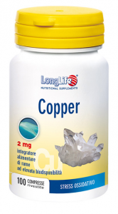 LONGLIFE COPPER - INTEGRATORE DI RAME AD ELEVATA DISPONIBILITA'