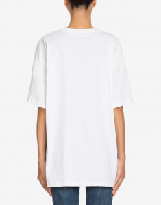 T-shirt in jersey Double Question Mark MOSCHINO