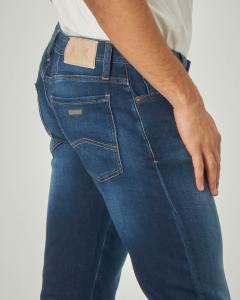 Jeans J14 skinny lavaggio scuro stone wash