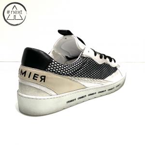 CROMIER - Sneakers Tecno nappa - bianco, nero.