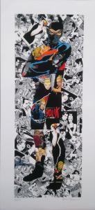 Collage 1 (Diabolik) - Gianni Moramarco