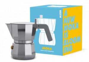ALESSI CAFFETTIERA MOKA 3 TAZZE DESIGN DAVID CHIPPERFIELD  NON ADATTA A INDUZIONE DC06/3