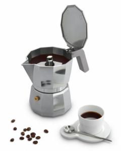 ALESSI CAFFETTIERA MOKA 1 TAZZA DESIGN DAVID CHIPPERFIELD NON ADATTA A INDUZIONE DC06/1