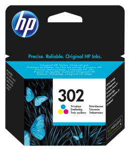HP 302 Originale Ciano, Magenta, Giallo 1 pezzo(i)