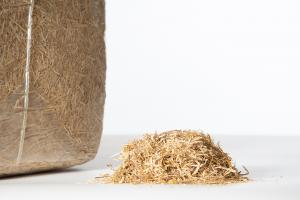 Lettiera per cavalli Paglia sminuzzata, balle da 15 kg