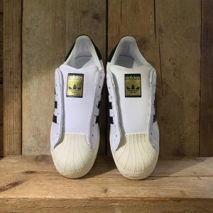 Scarpe Adidas Superstar Senza Lacci Bianca e Nera