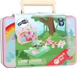 Set da gioco Unicorno in valigia