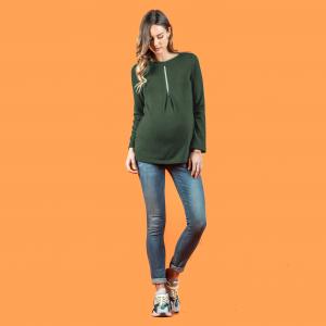 Maglioncino maternity allattamento reversibile