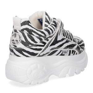 Buffalo London Sneaker 1339 Zebra-1