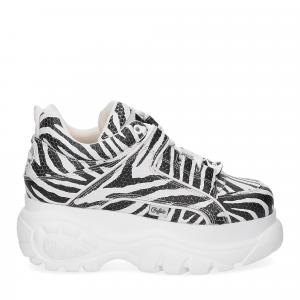 Buffalo London Sneaker 1339 Zebra-2