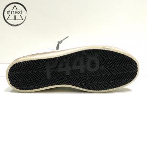 P448 - S20JOHN-M - sneakers in tessuto tecnico mesh bianco, pelle argento, nero, bianco