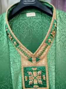 Casula Solenne Atelier LAVS colore verde