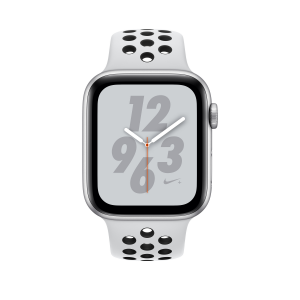 Apple Watch Nike+ Series 4 smartwatch, 44 mm, Argento OLED GPS (satellitare)