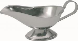 Salsiera in acciaio cl 30 cm.22,8x9,5x10h