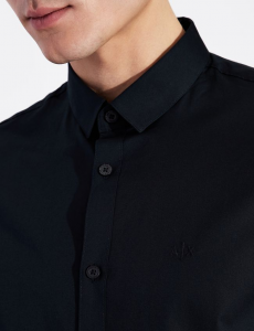 Camicia basica uomo manica lunga ARMANI EXCHANGE