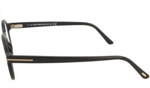 Tom Ford - Occhiale da Vista Unisex, Black FT 5606-B  BLUE BLOCK  001  C48