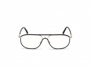 Tom Ford - Occhiale da Vista Unisex, Shiny Black FT 5624-B  001 D  C58