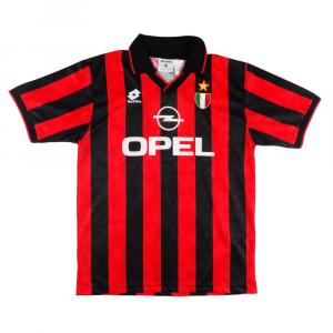 1994-95 Ac Milan Maglia Match Worn/Issue #5 Costacurta XL