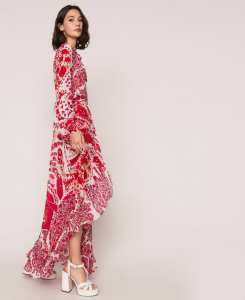 SHOPPING ON LINE TWINSET MILANO GONNA IN GEORGETTE DI VISCOSA NEW COLLECTION  WOMEN'S SPRING SUMMER 2020