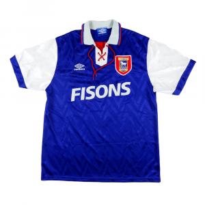 1992-94 Ipswich Maglia Home XL