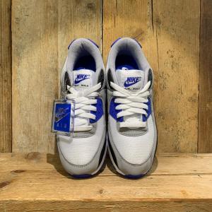Scarpa Nike Air Max 90 Bianca Blu e Nera