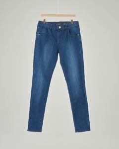 Jeans lavaggio scuro stone wash 8-16 anni