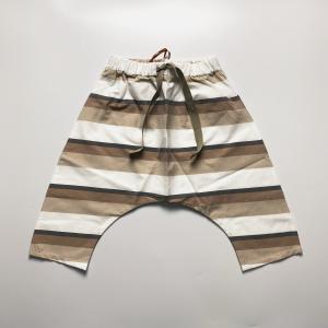 Pantalone cavallo basso riga grigia
