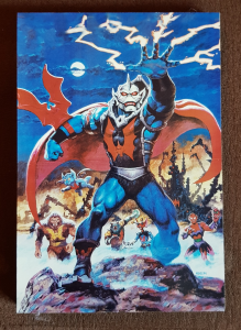 Quadretto in legno: Masters of the Universe (type 3)