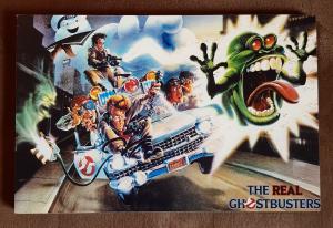 Quadretto in legno: The Real Ghostbusters (type 16)