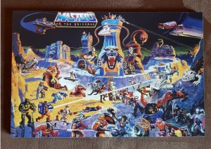 Quadretto in legno: Masters of the Universe (type 13)
