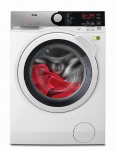AEG L8FEE845X lavatrice Libera installazione Caricamento frontale Grigio 8 kg 1400 Giri/min A+++-50%