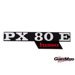 142721130 TARGHETTA LATERALE VESPA PX 80 LUSSO PIAGGIO