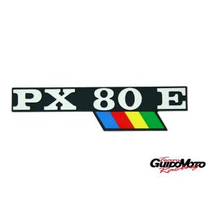 142720780 TARGHETTA LATERALE VESPA PX 80 ARCOBALENO PIAGGIO