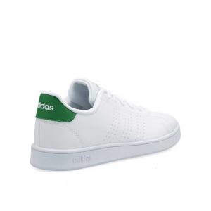 Adidas Advantage Bianco Verde da Donna