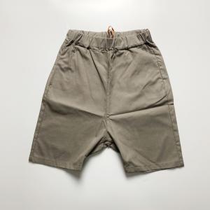 Pantalone corto in mussola con tasche